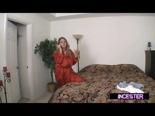 son blackmailed to fuck mom and aunt joins